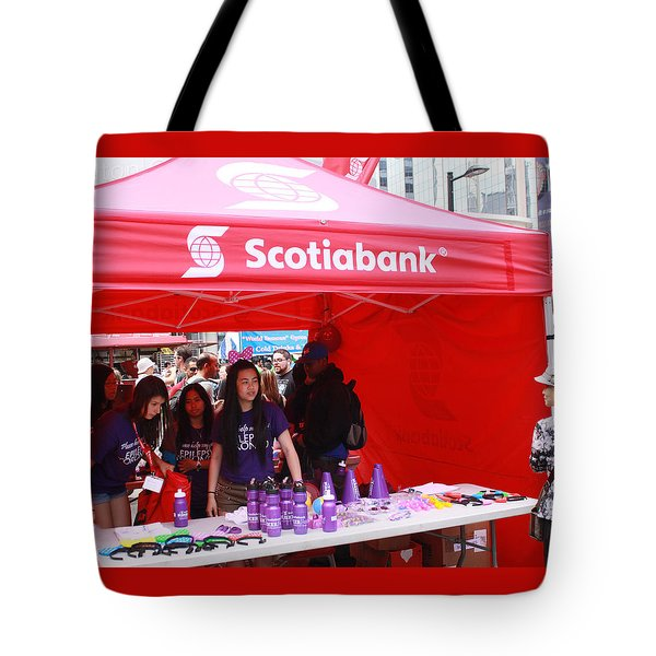 Busker Fest Toronto August 2104 Tote Bag