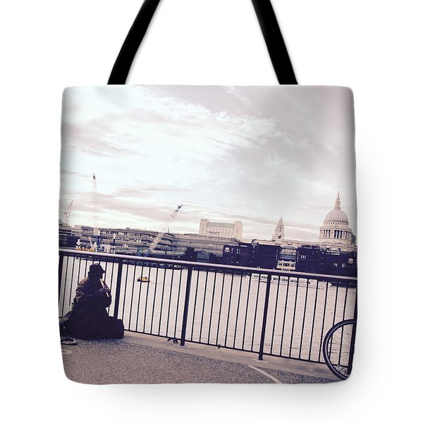 Busking Place Tote Bag