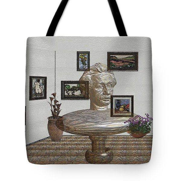 Bust Of The Spirit Of Einstein 1 Tote Bag