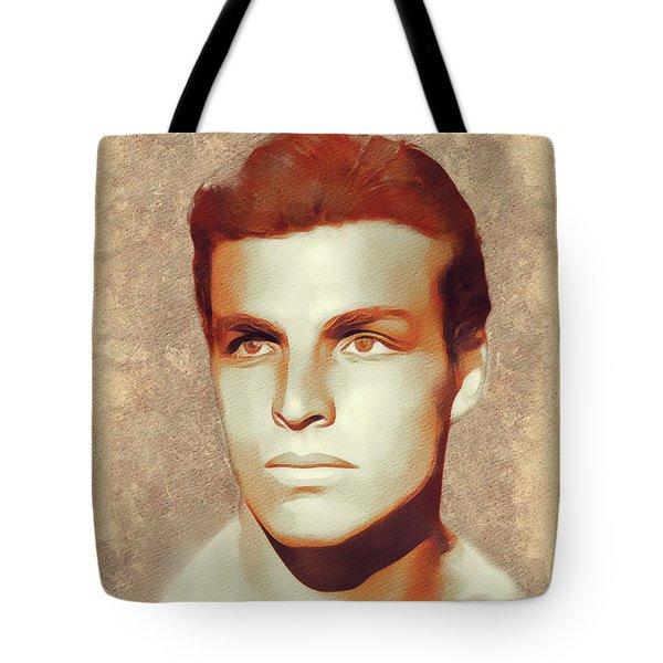 Buster Crabbe, Hollywood Legend Tote Bag