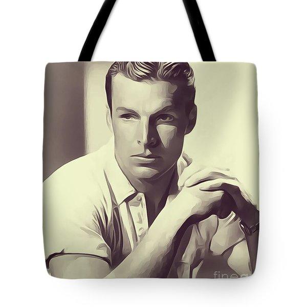 Buster Crabbe, Vintage Actor Tote Bag