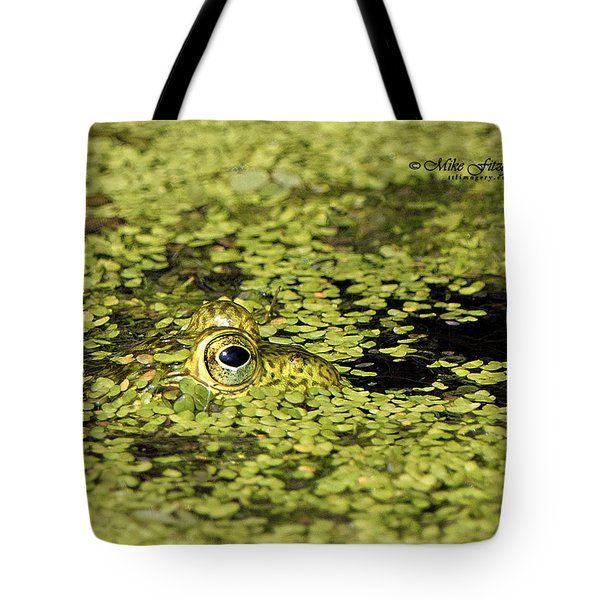 Buster In Camo Tote Bag