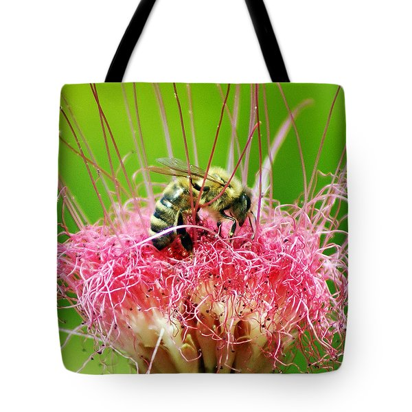 Busy Bee Tote Bag by Holly Kempe