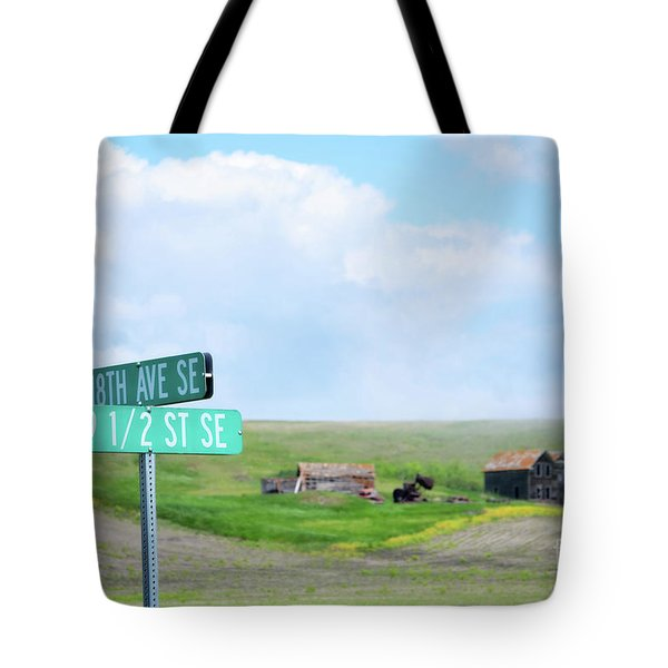 Busy Intersection Tote Bag