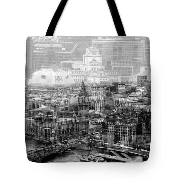 Busy London Tote Bag
