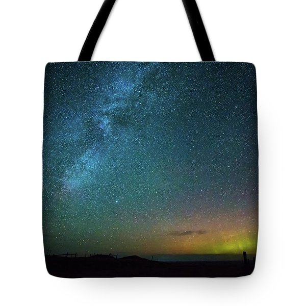 Busy Night Tote Bag