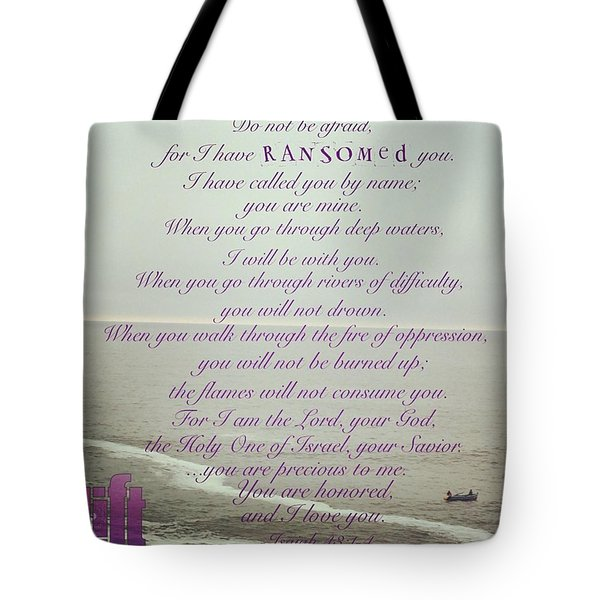 But Now, O Jacob, Listen To The Lord Tote Bag