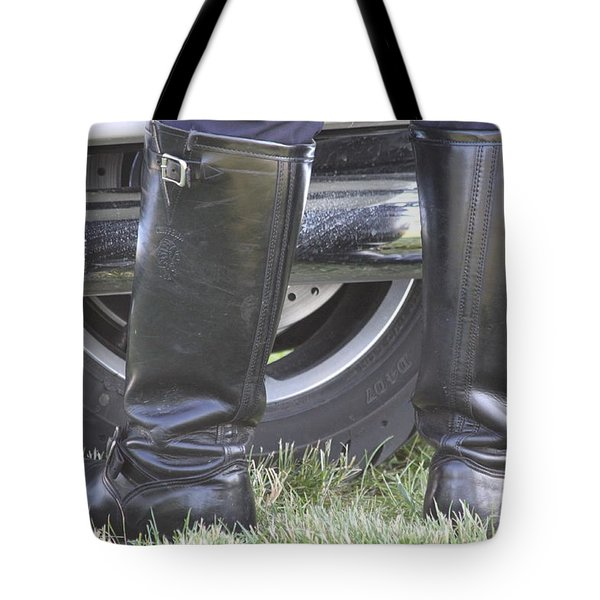 But Officer... Tote Bag by Lauri Novak