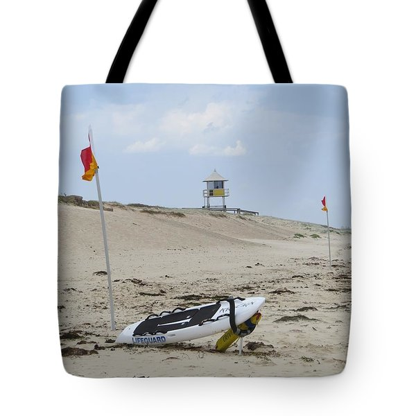 But The Beach Is Empty Tote Bag