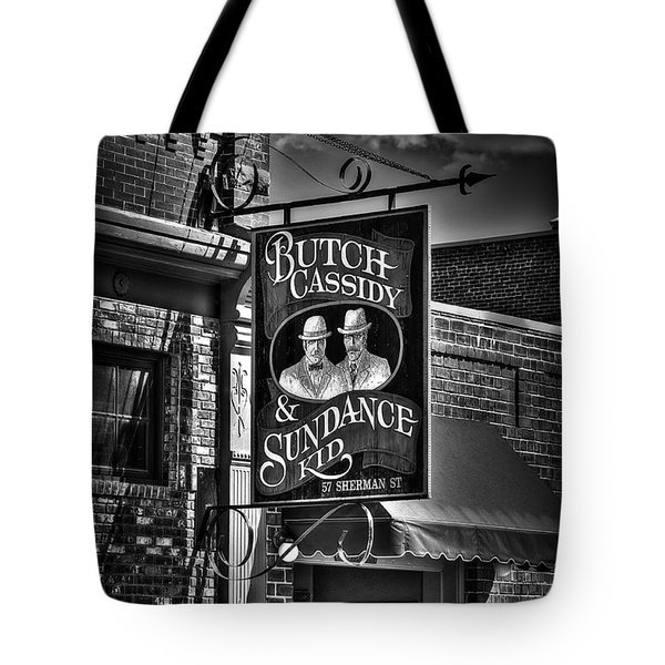 Butch Cassidy And The Sundance Kid Tote Bag by Deborah Klubertanz