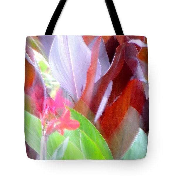 Butchart Gadens Overexposed Tote Bag