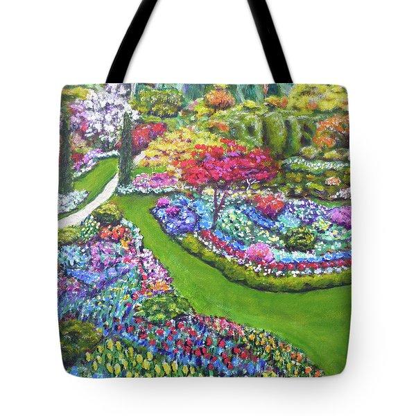 Butchart Gardens Tote Bag