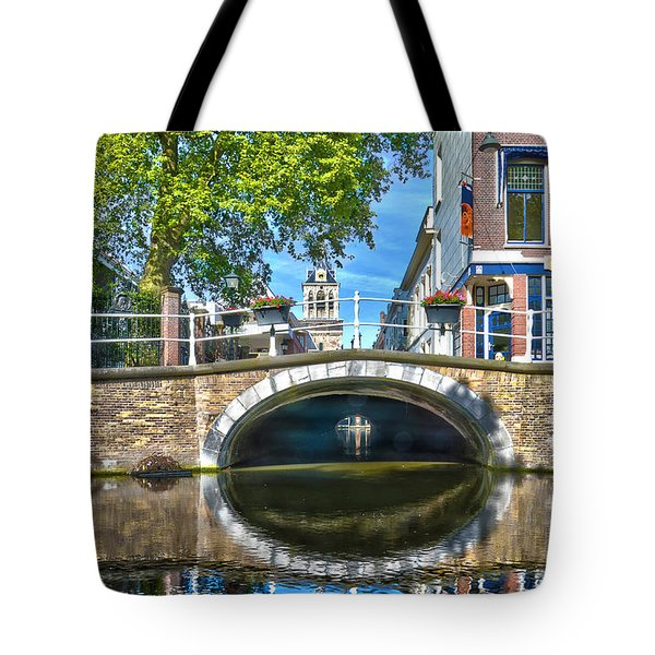 Butter Bridge Delft Tote Bag