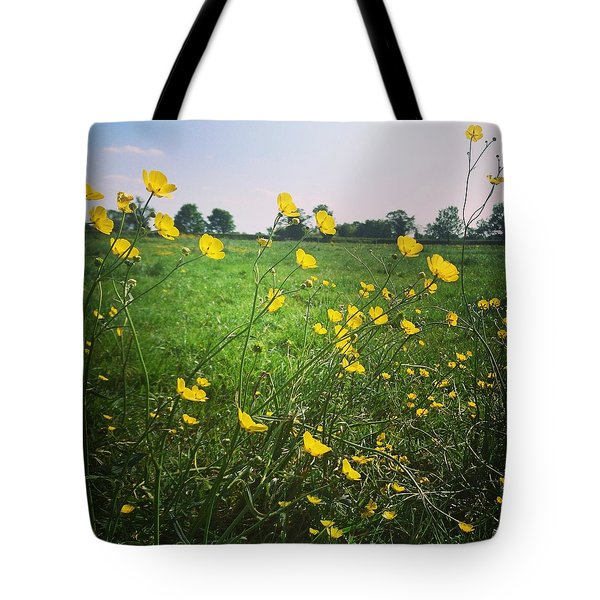 Buttercups Meadow Tote Bag