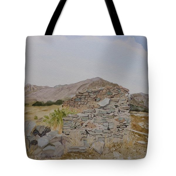 Old Butterfield Stage Station Tote Bag
