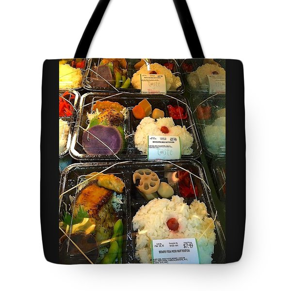 Butterfish Bento Box Tote Bag by Brenda Pressnall
