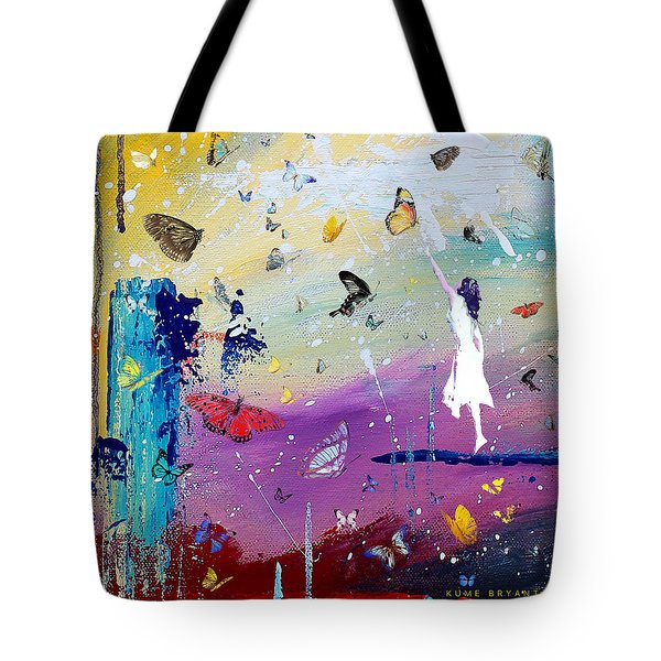 Butterflies And Me Tote Bag