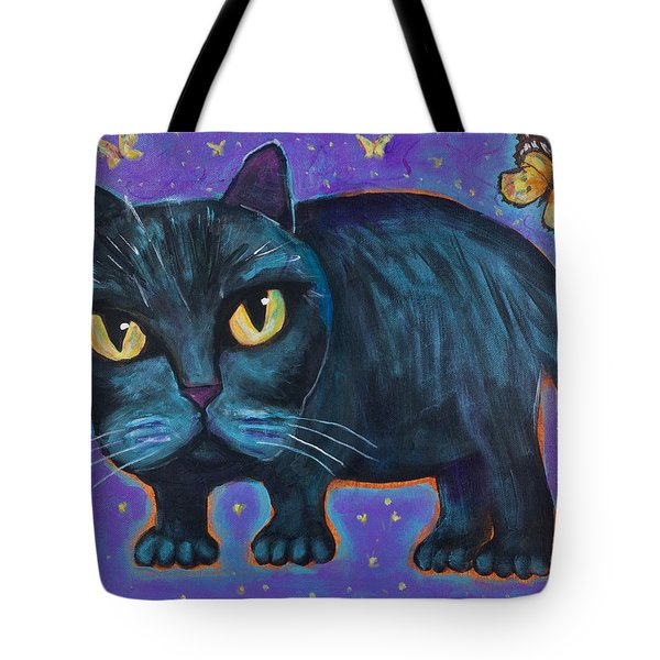 Butterflies Are Annoying Tote Bag