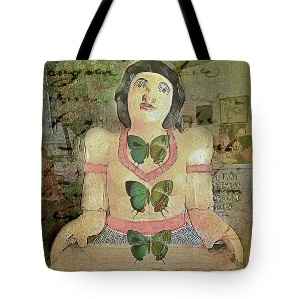 Tote Bag featuring the photograph Butterflies Are Free by Craig J Satterlee