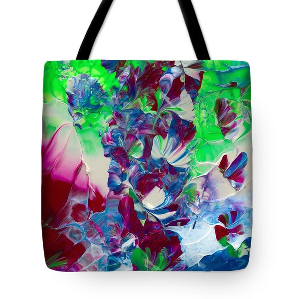 Butterflies, Fairies And Flowers Tote Bag