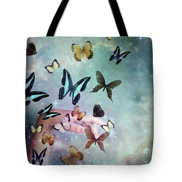 Butterflies Reborn Tote Bag
