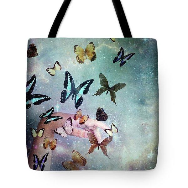 Butterflies Reborn Tote Bag