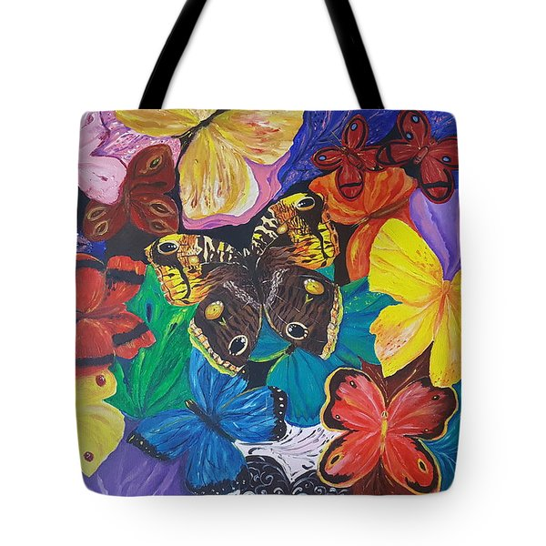 Butterflies Tote Bag by Rita Fetisov