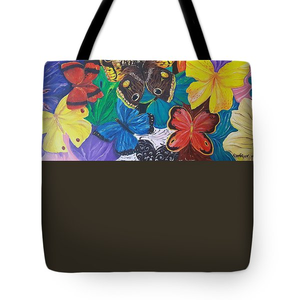 Butterflies 2 Tote Bag by Rita Fetisov