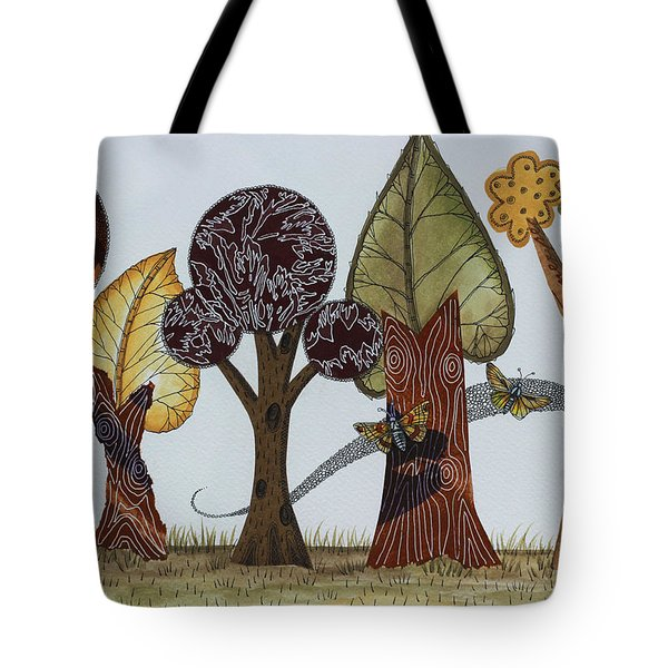 Butterflies Romance Tote Bag