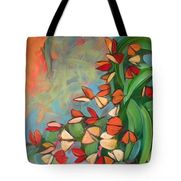 Butterflies Sunning 1 Tote Bag