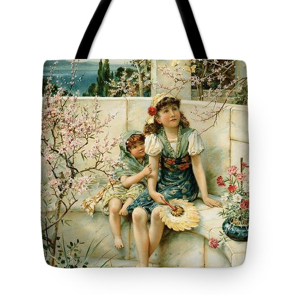 Butterflies Tote Bag by William Stephen Coleman