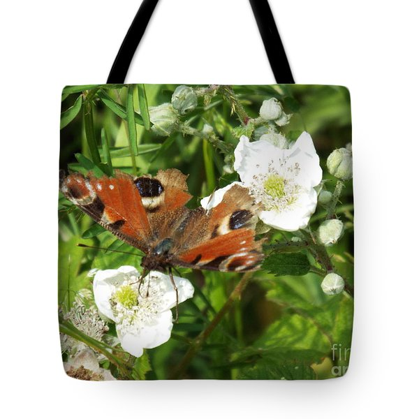 Butterflower Tote Bag