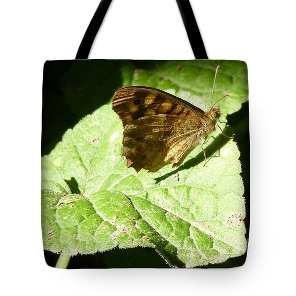 Tote Bag featuring the photograph Butterfly 2 by Jean Bernard Roussilhe