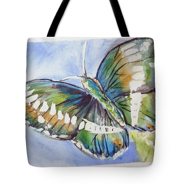 Butterfly 2 Tote Bag by Loretta Nash