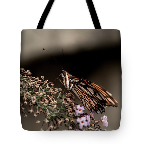 Tote Bag featuring the photograph Butterfly 4 by Jay Stockhaus