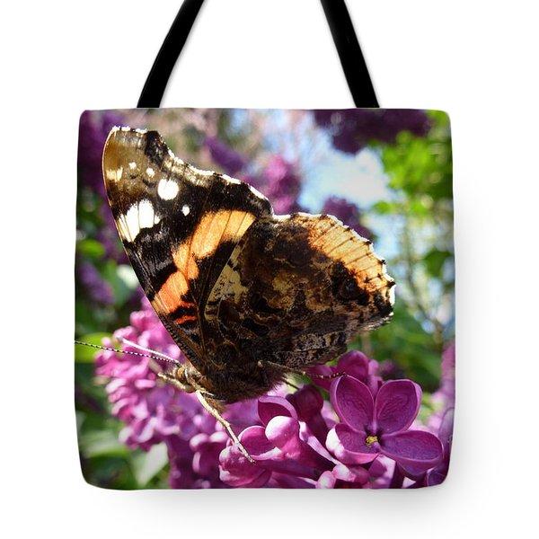 Butterfly 7 Tote Bag by Jean Bernard Roussilhe