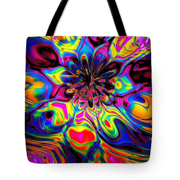 Butterfly Abstract Tote Bag by Maciek Froncisz