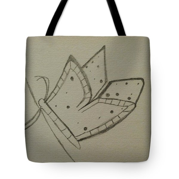 Butterfly Tote Bag by Alohi Fujimoto