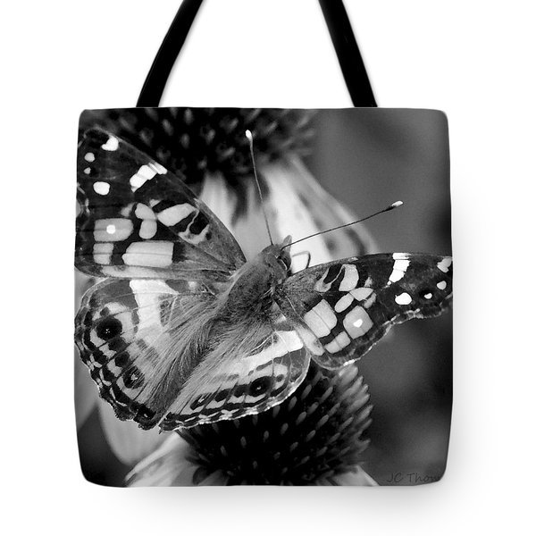 Butterfly American Lady Tote Bag