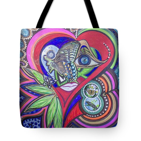 Butterfly And I Tote Bag