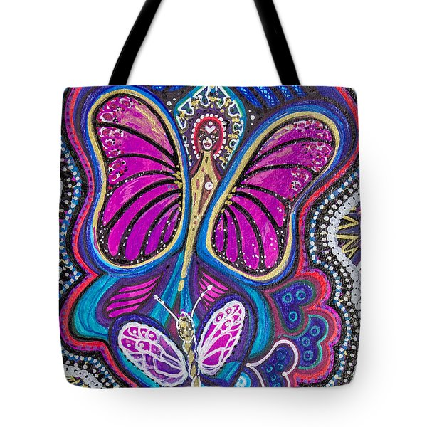 Butterfly Angels Tote Bag