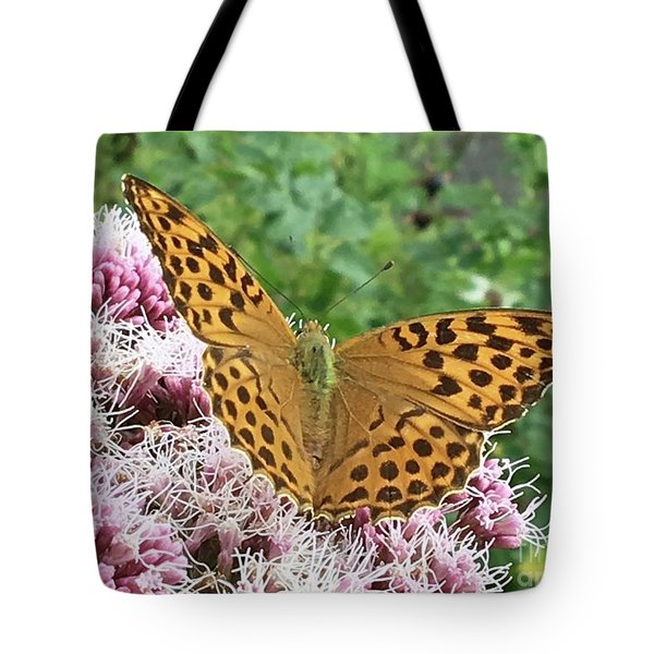Butterfly Argynnis Paphia  Tote Bag