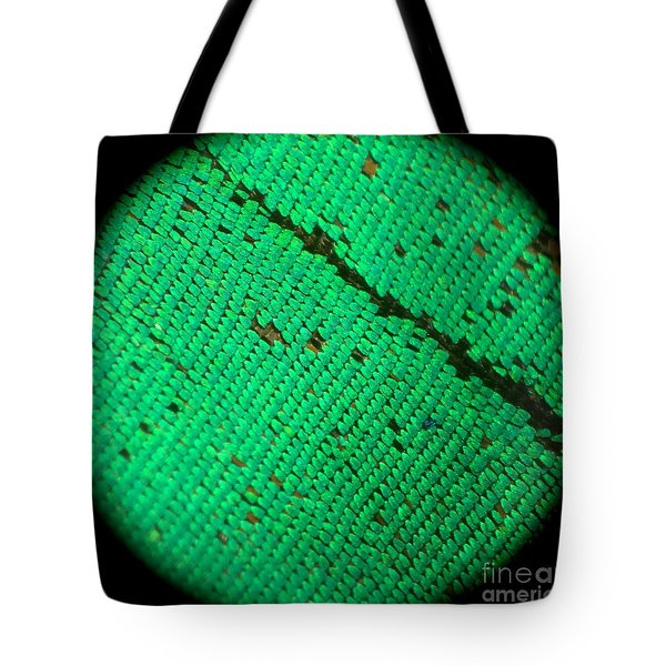 Butterfly Armor Tote Bag by KD Johnson