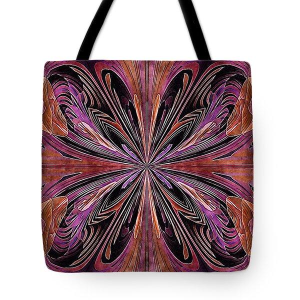 Butterfly Art Nouveau Tote Bag
