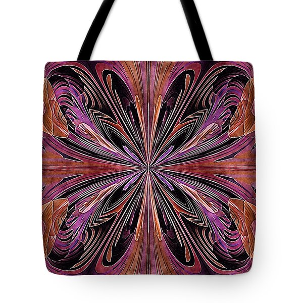 Butterfly Art Nouveau Tote Bag