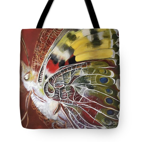 Butterfly Artbox Project 1 Basel Tote Bag