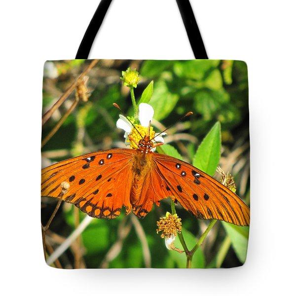 Butterfly At Canaveral National Seashore Tote Bag