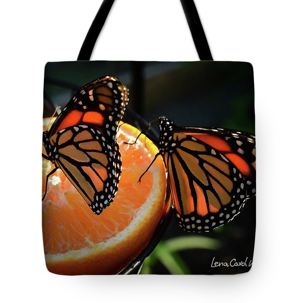 Butterfly Attraction Tote Bag