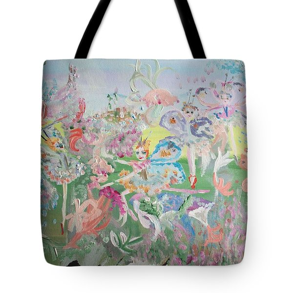 Butterfly Ballet Reflectance Tote Bag by Judith Desrosiers