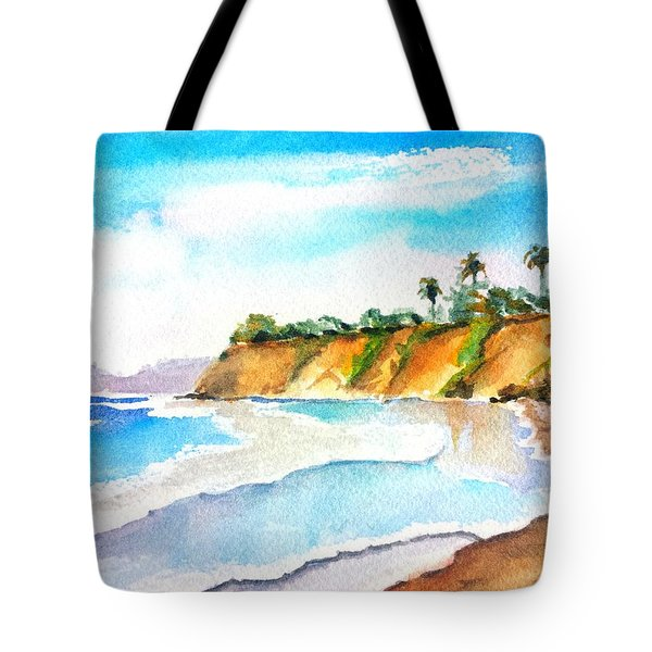 Butterfly Beach Santa Barbara Tote Bag